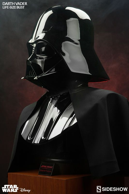 Star Wars Darth Vader Life Size Bust By Sideshow Collectible Star Wars Villains Darth Vader Vintage Star Wars Toys