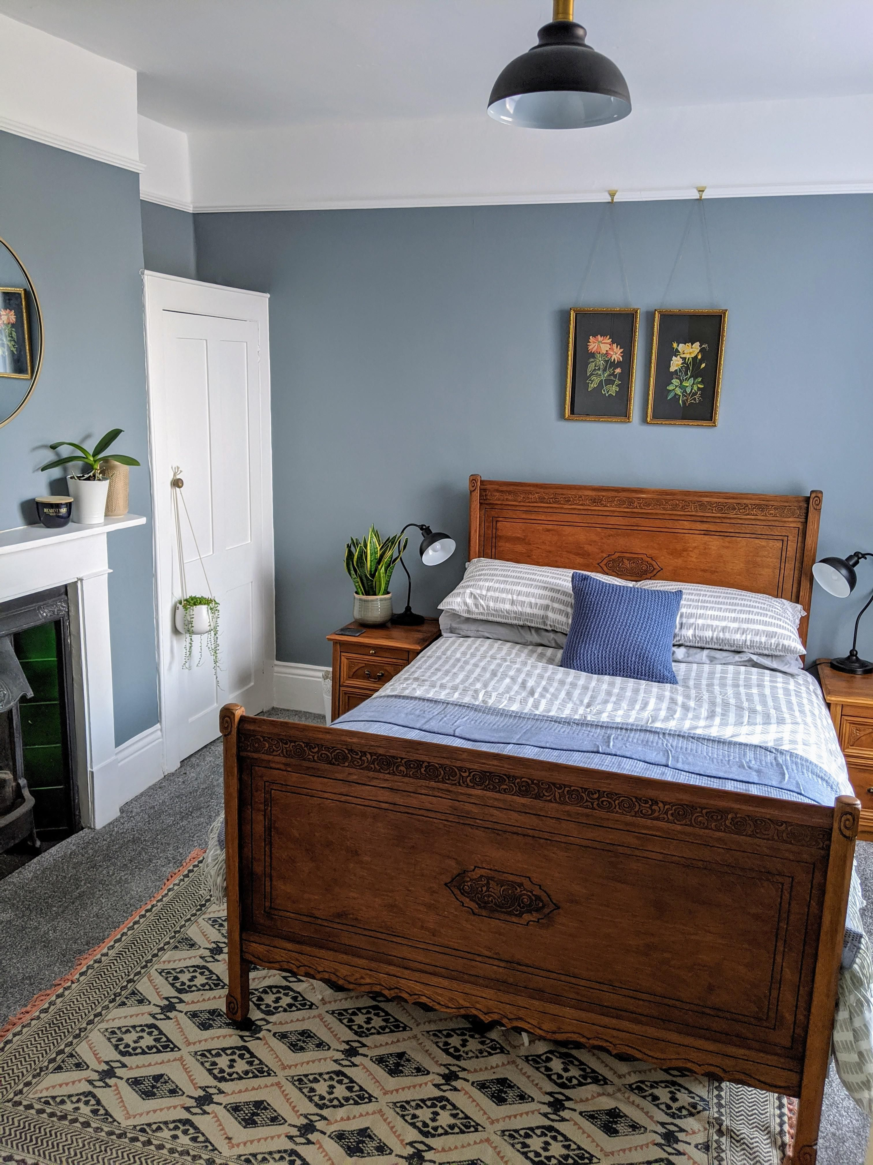 Newly Decorated Guest Bedroom In Our Victorian Terrace South Coast Uk Victorian Terrace Interior Victorian House Interiors Modern Victorian Bedroom Guest bedroom ideas uk