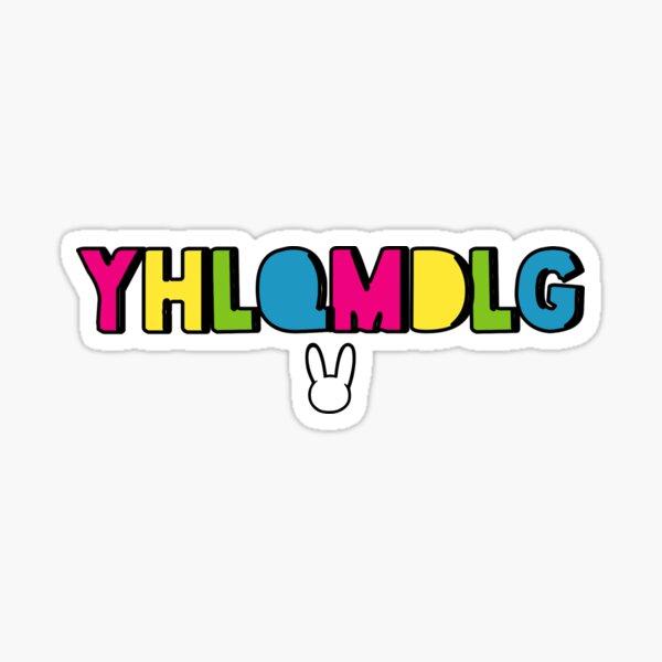 Bad Bunny Yhlqmdlg Sticker By Blazikin In 2021 Bunny Wallpaper Bunny Tattoos Bunny Logo