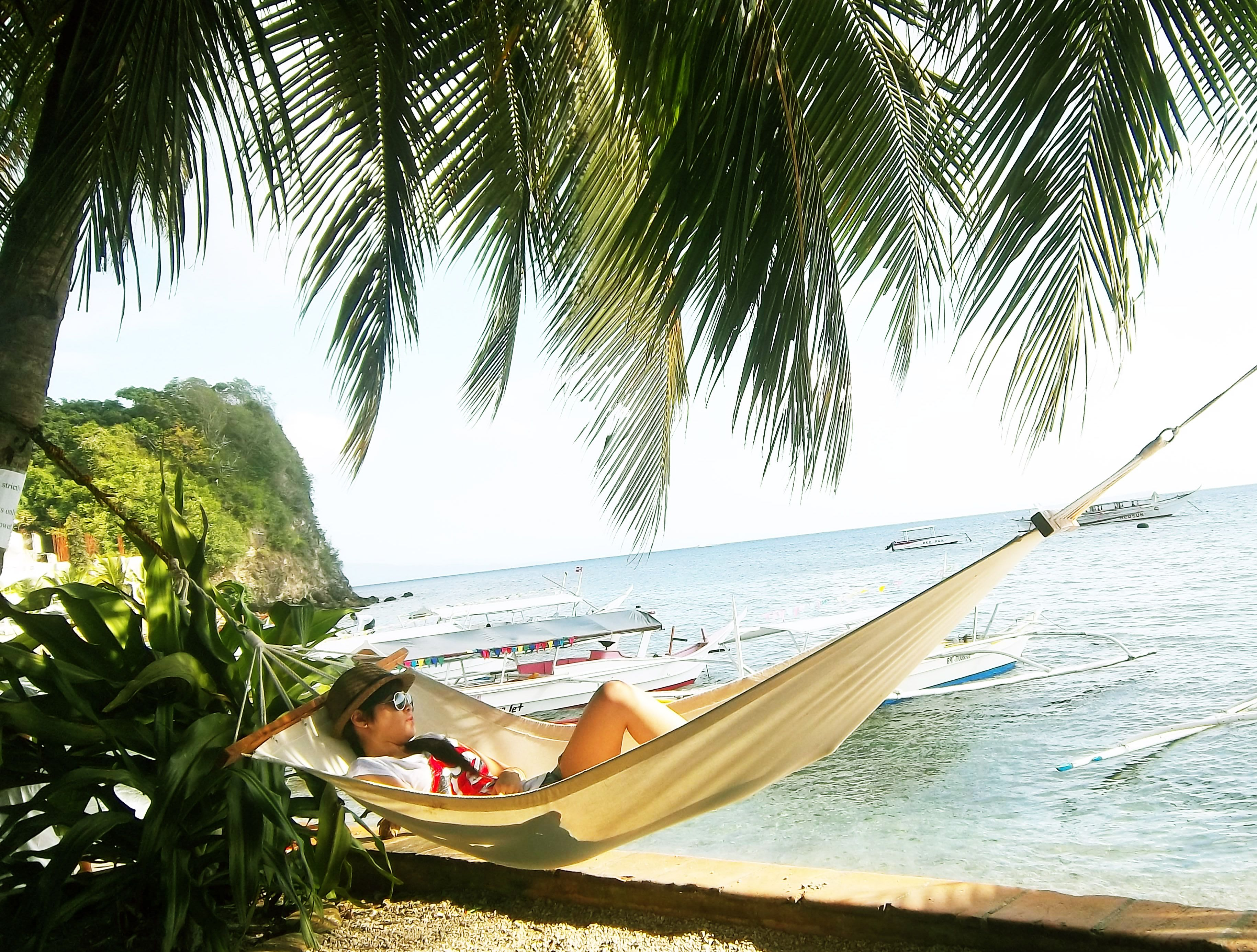 Define Relax? Swing By The Beach :) The Loveliest Place Ever. Puerto  Galera, Philippines. Summer 2012.