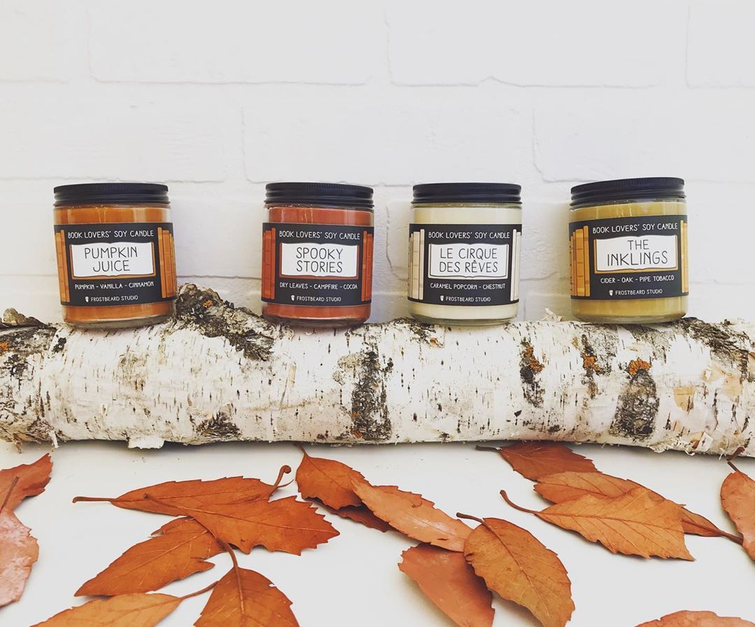 Image result for frostbeard candles