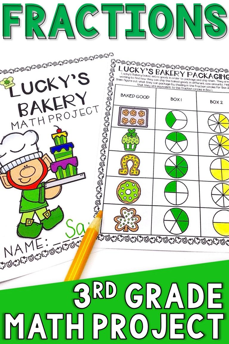 St. Patrick's Day math project is a fun way for kids to ...
