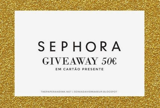 Amostras e Passatempos: SEPHORA Giveaway by The Paper and Ink