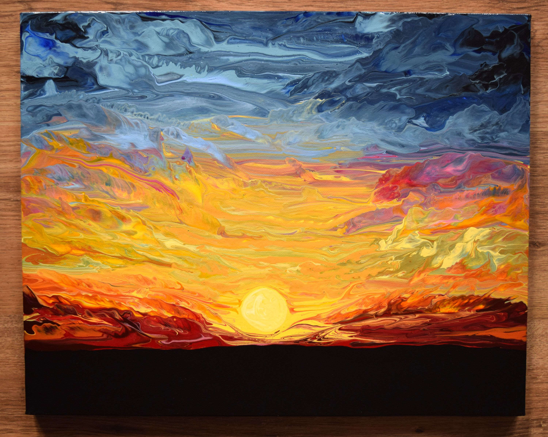 Blazing Sunset 16\