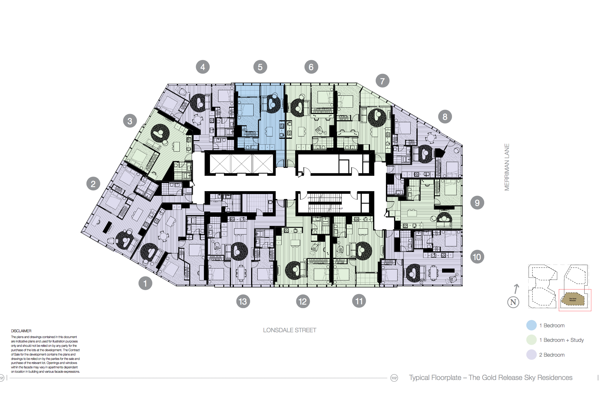 The Residences At West Side Place Melbourne Pent House Floor Plans Residences