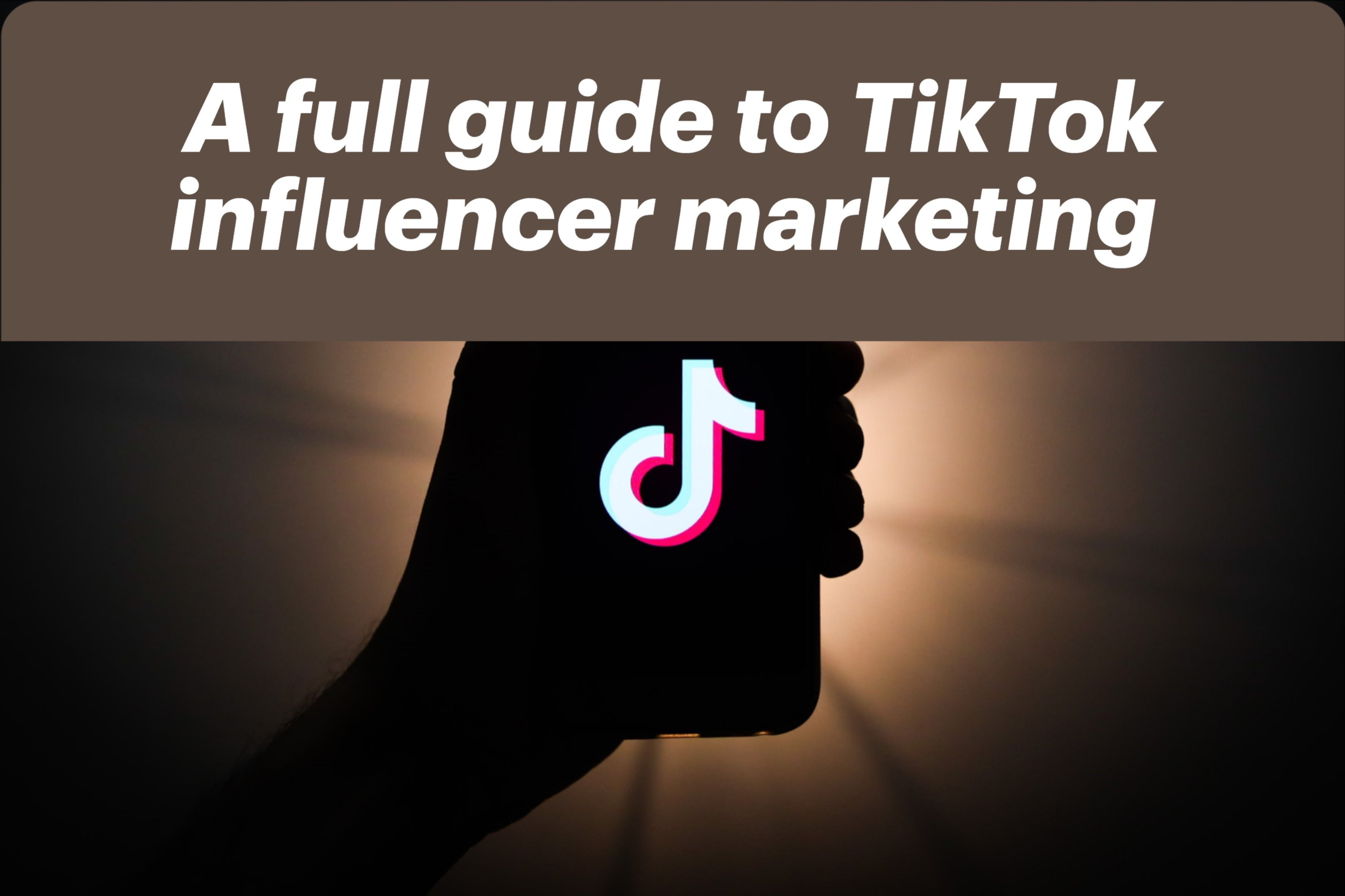 Guide Opportunities For Brands Influencers On Tiktok Influencer Marketing Algorithm Digital Marketing