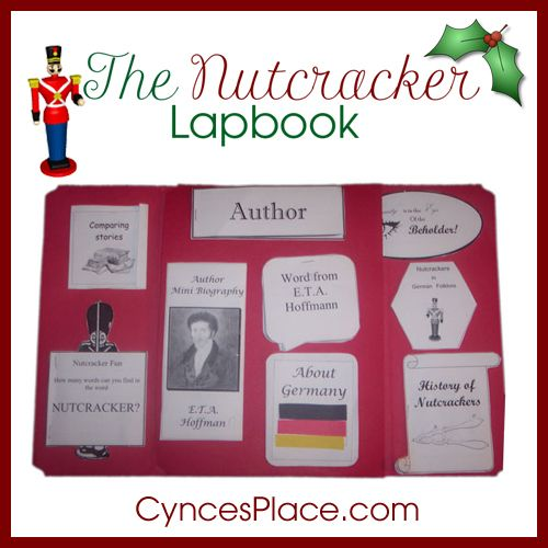 Nutcracker Lapbook - FREE I came up with a combination of the tale - origin of the word free