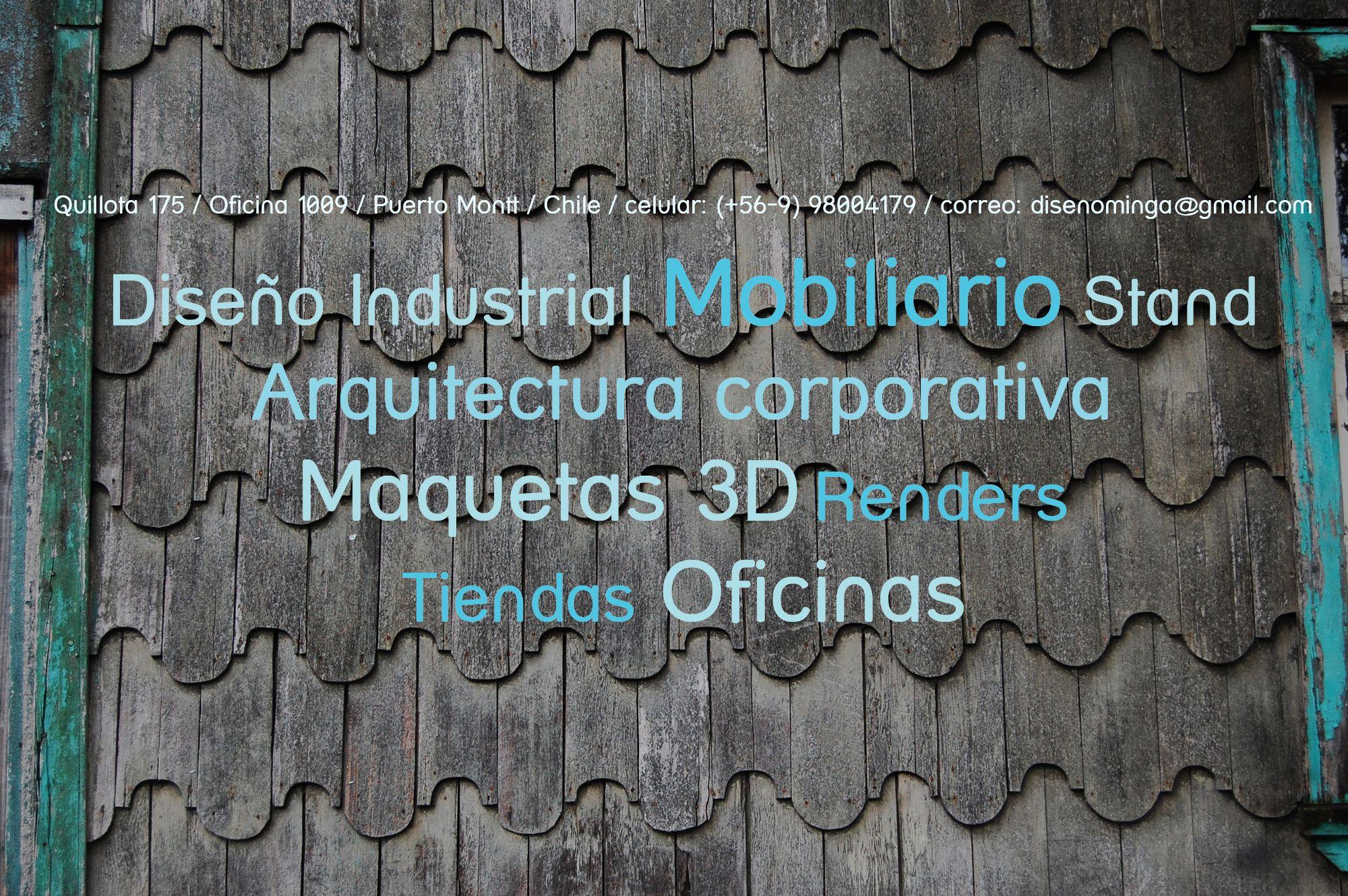 Minga diseño es el taller creativo de Mauricio Barría, Diseñador Industrial, Chile, Minga significa trabajo comunitario-solidario en la isla grande de Chiloé, de esta manera queremos aportar al desarrollo del diseño Chileno.    Servicios de Diseño Industrial, Maquetas 3D, Renders, para proyectos de Arquitectura Corporativa,Tiendas, Mobiliario, Proyectos especiales.    Minga Diseño esta enfocado hacia un diseño limpio, justo, que respeta el medio ambiente, el patrimonio cultural, y las…