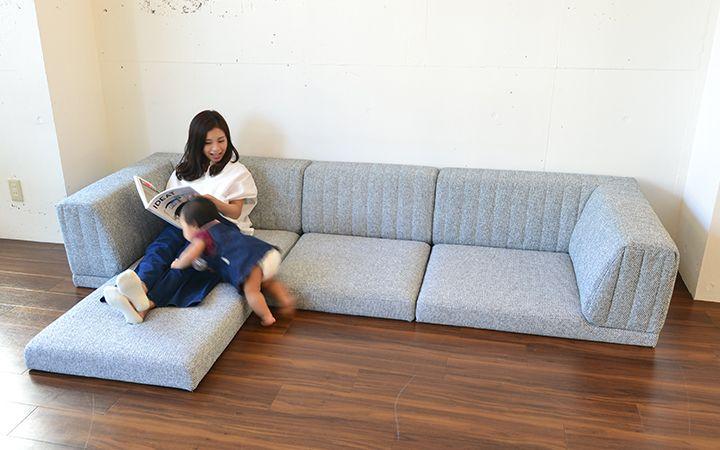 ピカソソファ Picasso Sofa 座面12cm 芸術的な技術と美しさを兼ね備えたフロア ローソファ ソファ通販 harem ローソファ ソファ インテリア 家具