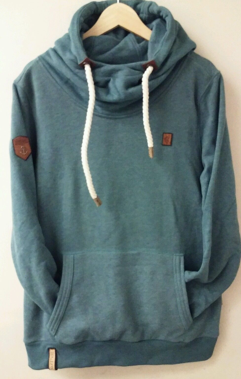 f68d5b426a2b Naketano High Neck sweat Hoodie with A Thick String Rope Avail in M L XL  2XL   eBay