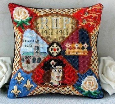 Sheena Rogers Designs Catherine Howard Mini Cushion Cross Stitch Kit