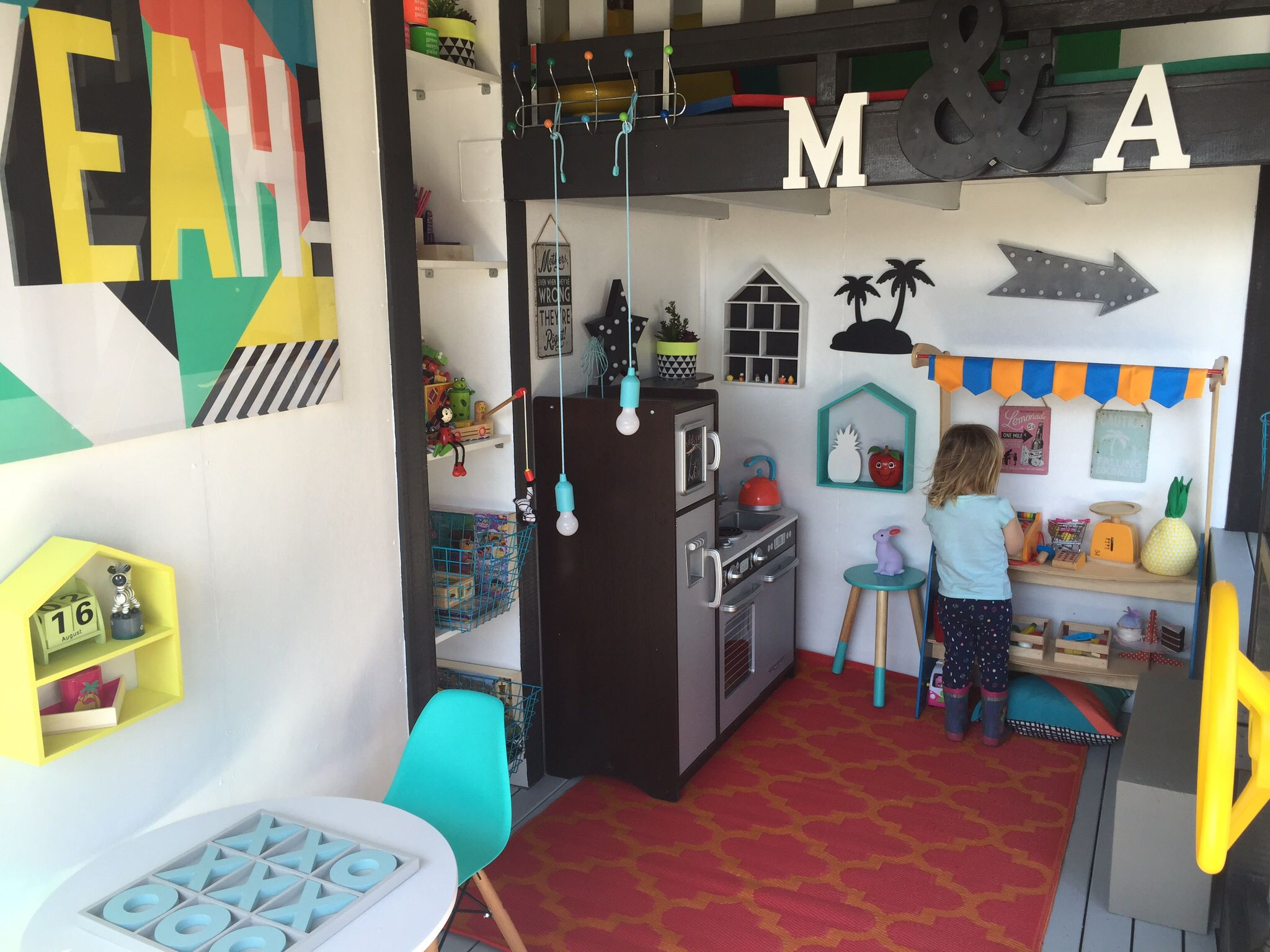 Kids cubby house interior Got to love Kmart