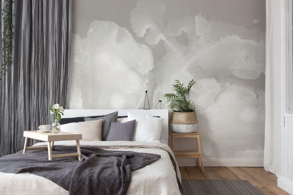 Come arredare una camera da letto moderna con carta da ...
