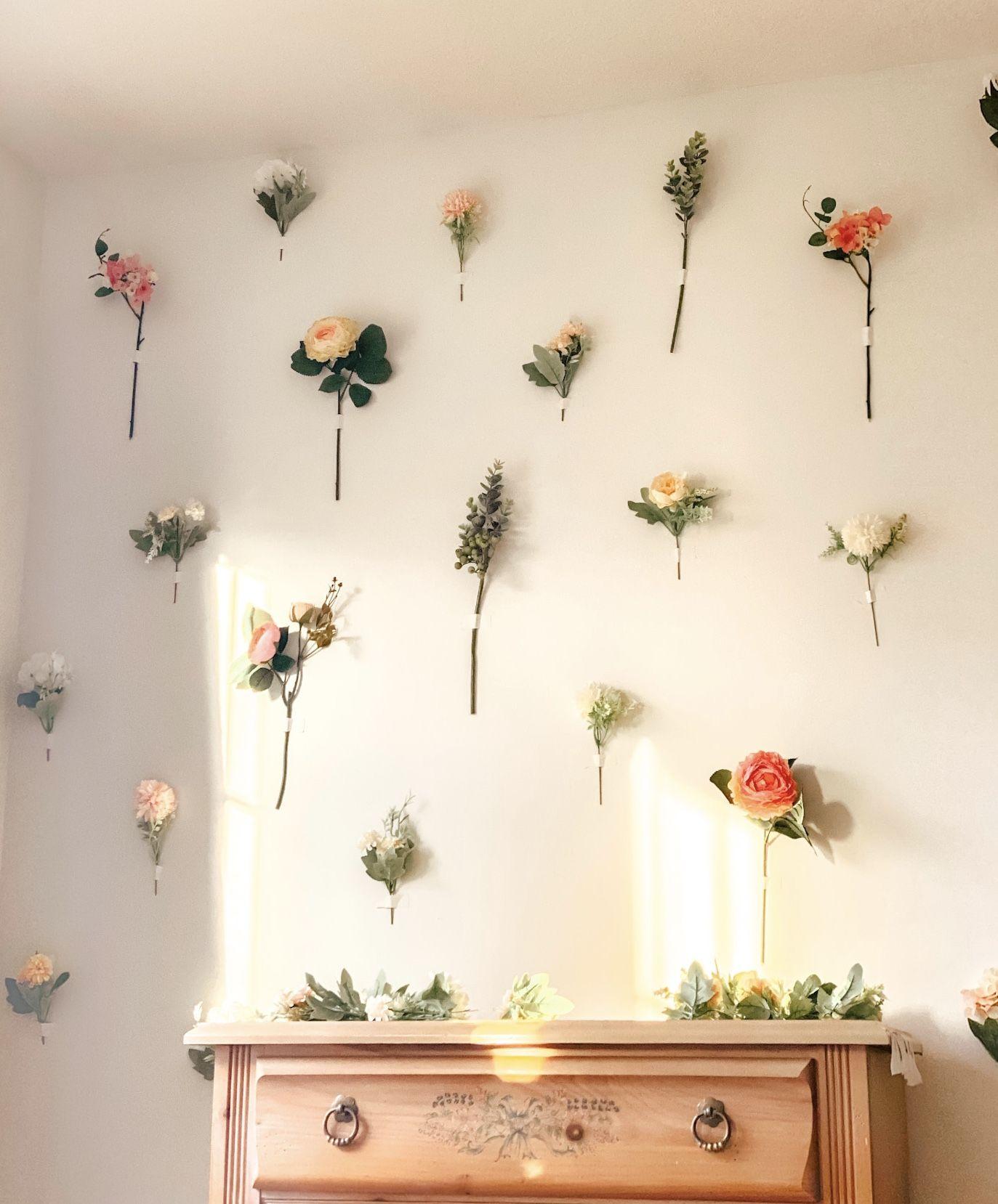 DIY Flower Wall — Kelsey Haver Designs in 2020 Diy