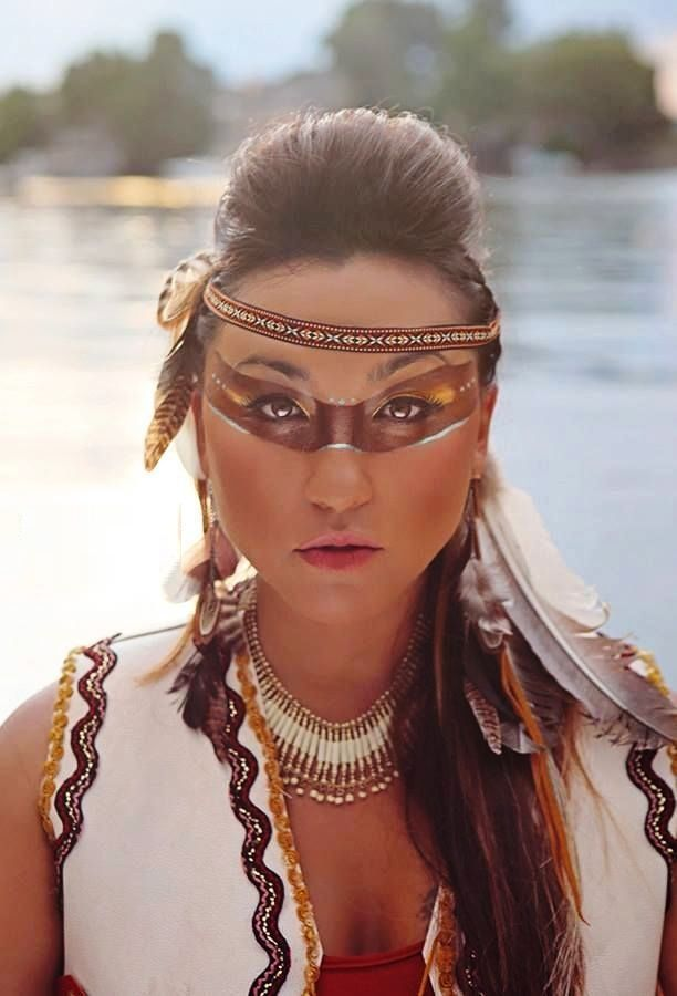 Top 20 Indian Halloween Makeup To Try This Year | Native american ...