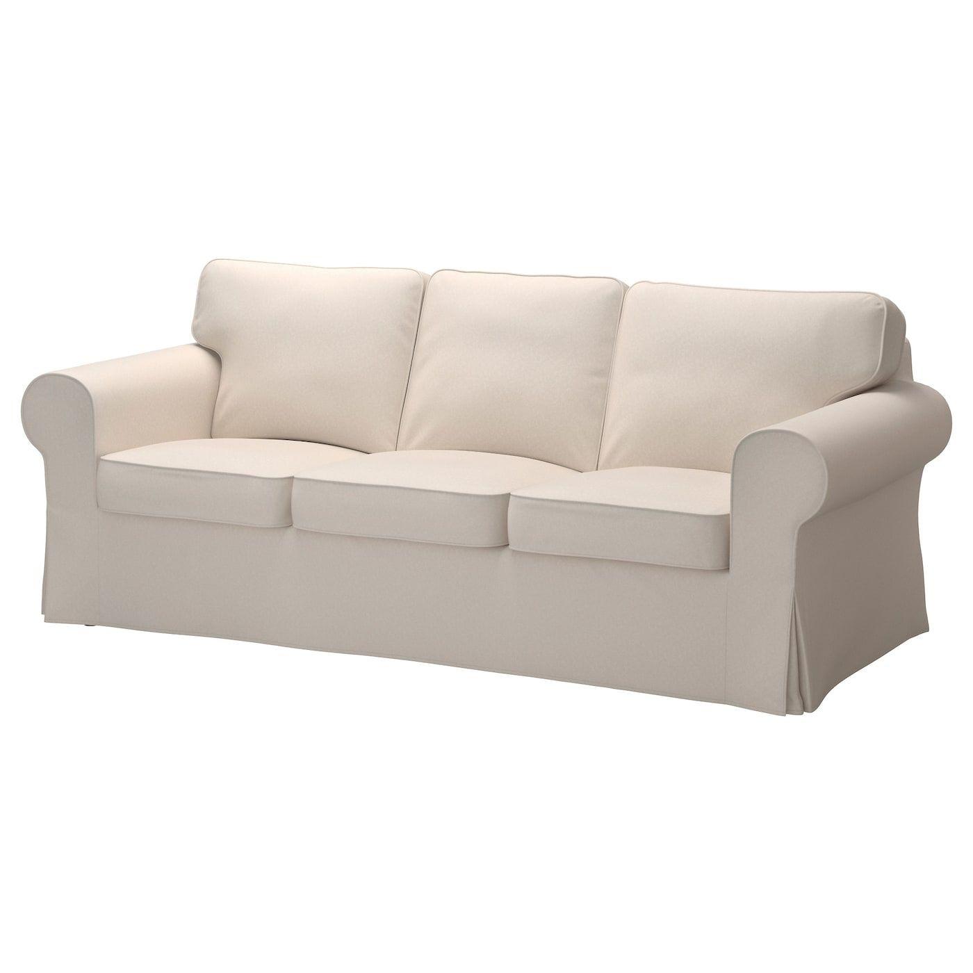 Ektorp Sofa Lofallet Beige Ikea In 2020 Ikea Sofa Bezug Sofa