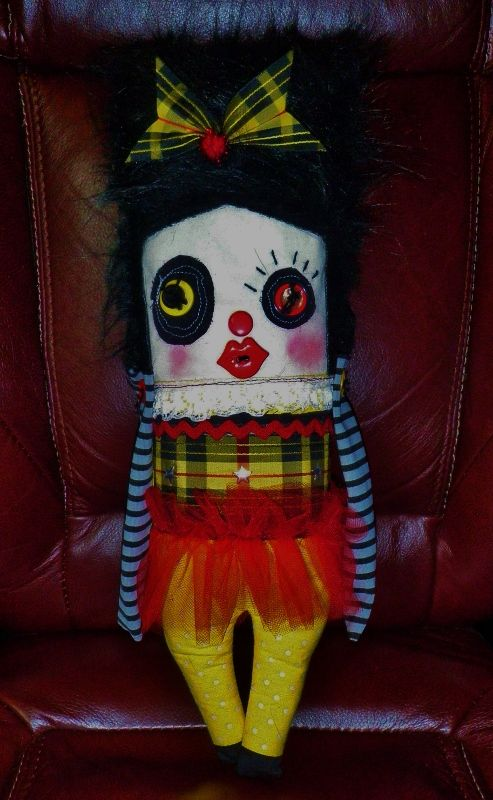 "week 13 art doll ""Lola"""