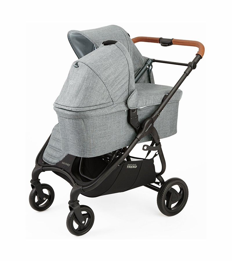Valco Snap Duo Trend Stroller Grey Marle Double baby