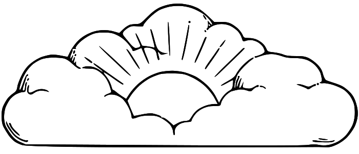 Lds Clipart Sun Clipart Panda Free Clipart Images In 2021 Clipart Black And White Image Cloud Sun And Clouds