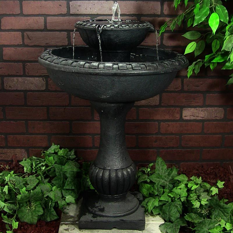 Qvc Solar Fountains With Images Solar Fountain Diy Solar