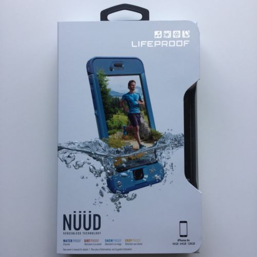 LifeProof NUUD Screenless Technology Water Proof for iPhone 6S Cliff Dive Blue | eBay