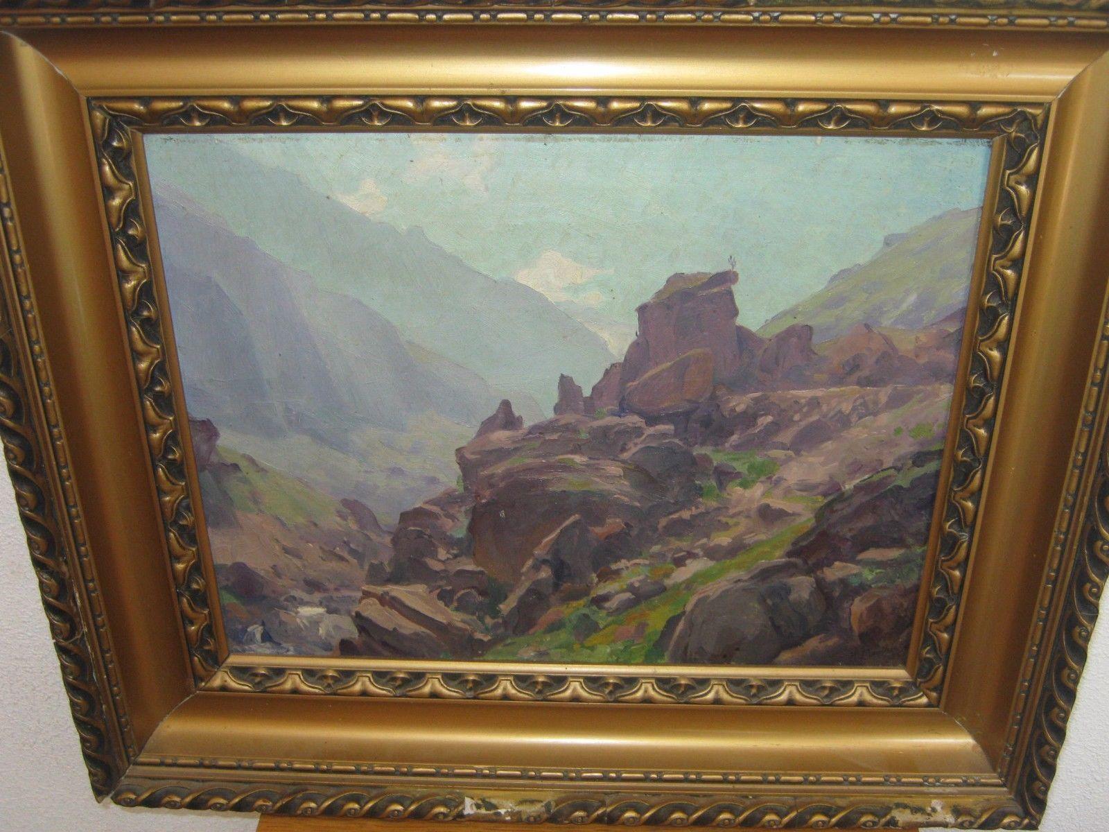 ancien tableau montagne signé h moutier 1925 https://t.co/J8Eqbn5Q32 #Decoration https://t.co/D04LC9fGuH