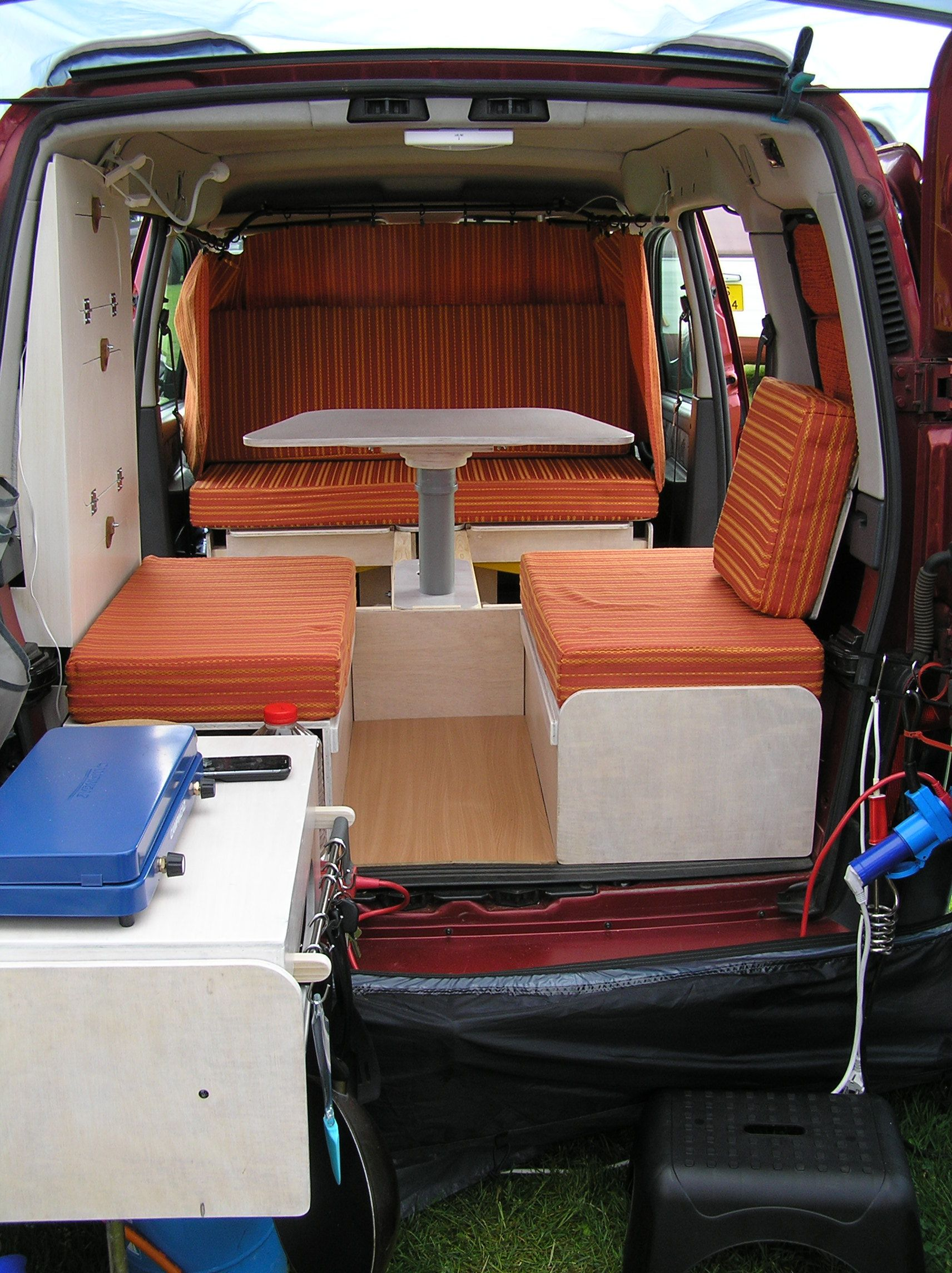 Buses Cheminées Diy Mini Camper Project Made And Designed By Thema