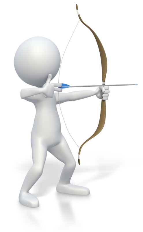 Stick Figure Bow Drawn Pc 800 Clr 3327 Png 495 800 Bow Drawing White Figures Stick Figures