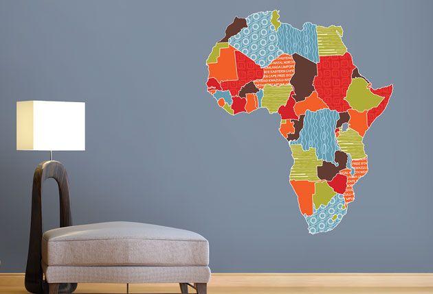 map of africa kuna loves pinterest vinyl wall art walls