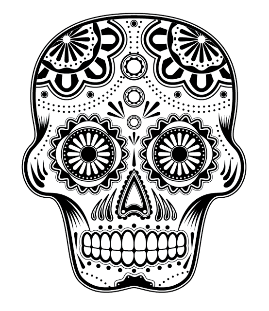 Skull Coloring Pages for Adults Hippies Blog Some Coloring