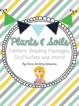 This item includes activities to help with your plants and soils units! Because the units are so closely related, I usually teach them together, but you could use the activities separately if you prefer.