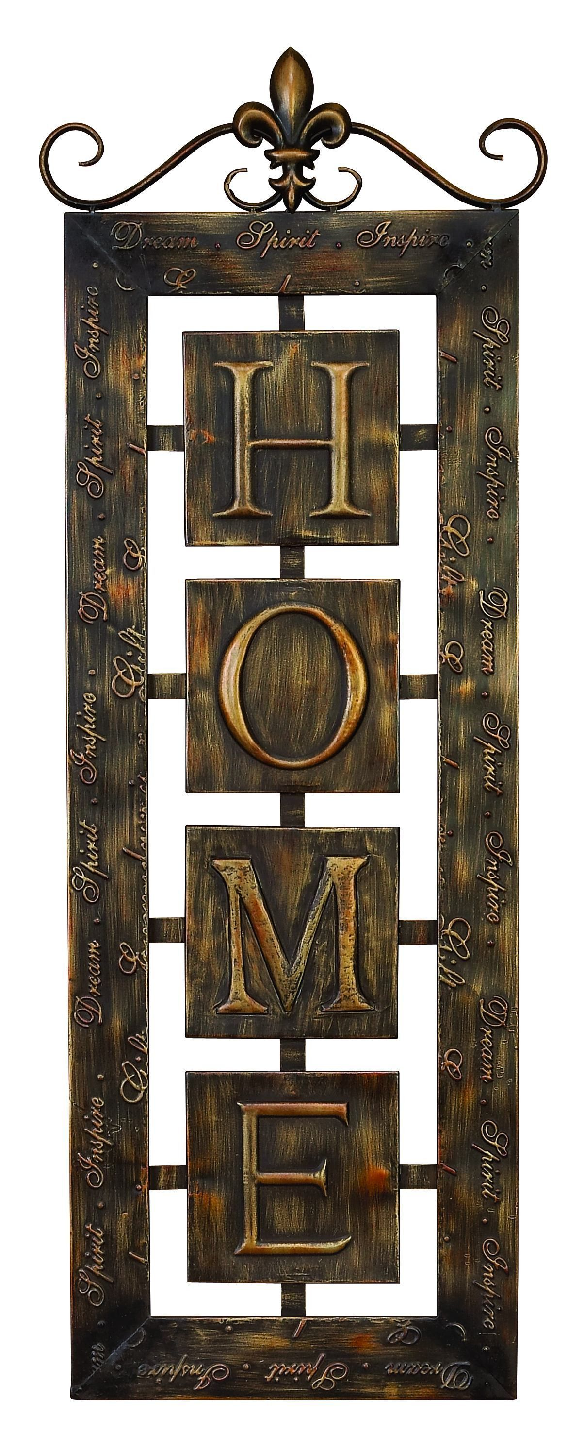 Intimate uhomeu wall plaque metals products and décor