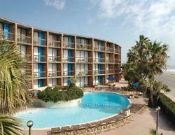 Commodore Hotel On The Seawall Galveston Island Texas