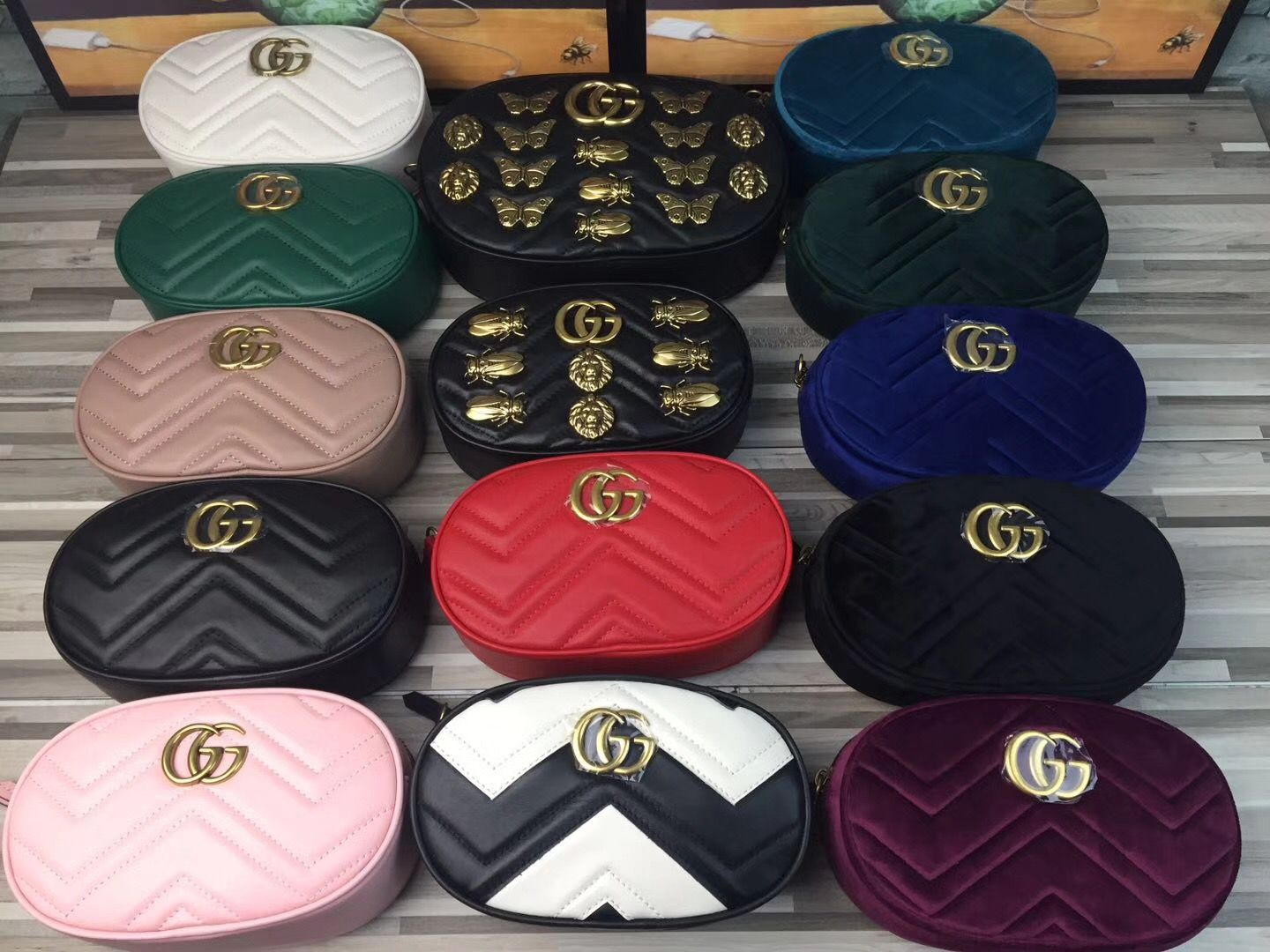 4513e0ca346b Gucci marmont waist belt bag original leather version | I want!!! in ...