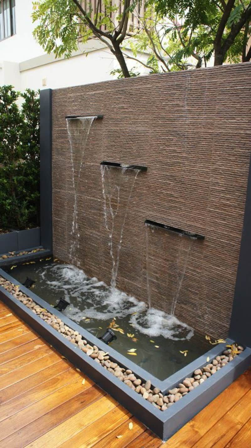 Outdoor Fountains And Water Features Water Features In The