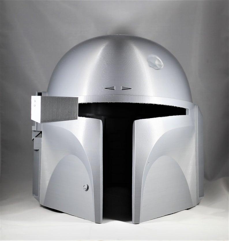 Boba Fett Jango Fett And Or Mandalorian Helmet Customizable Etsy In 2021 Jango Fett Mandalorian Boba Fett