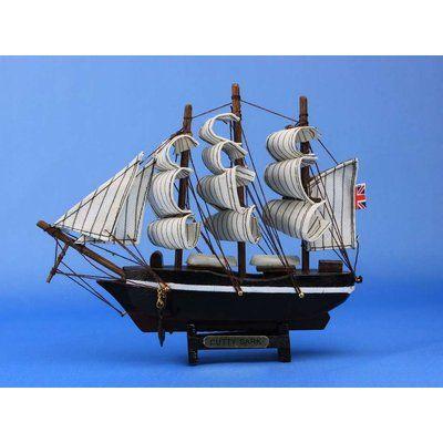 Breakwater Bay Fruitland Model Ship Wayfair Model Ships Clipper Ship Cutty Sark