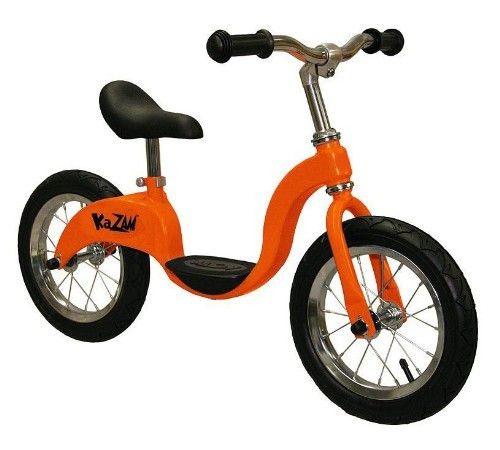Kazam Balance Bike Orange Balance Bike Bicycle Workout