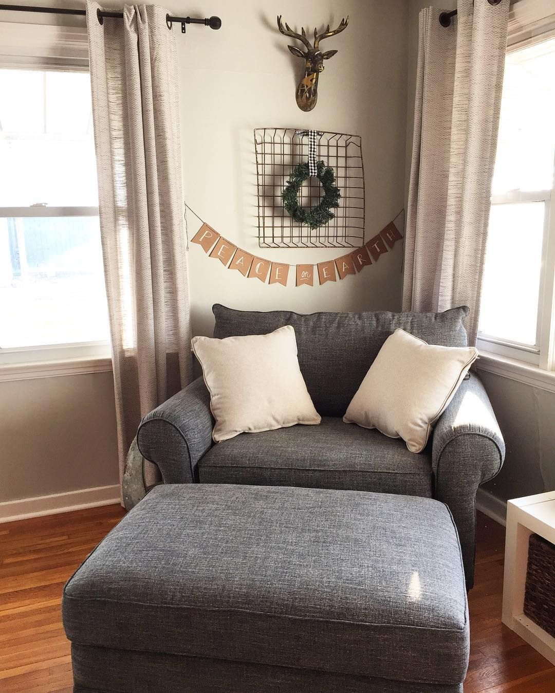 comfy chair and a half mid back office alex dream home pinterest living room