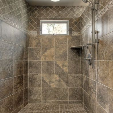 Walk In Tile Shower Designs Bathroom Ceramic Tile Walk In