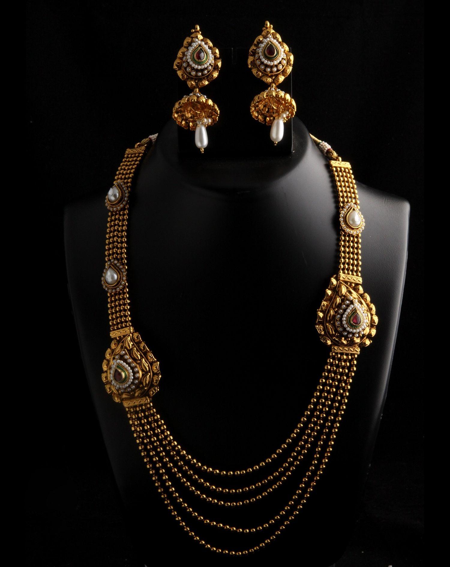 Pakistani Bridal Rani Haar Designs Collection 2016 | jwellary ...