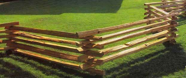 Cedar Stack Rails Unscarfed Yard Ideas Fence