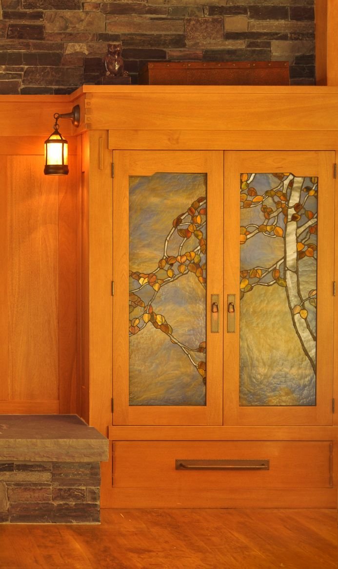 leaded glass in cabinet doors was common in turn of the century rh pinterest com