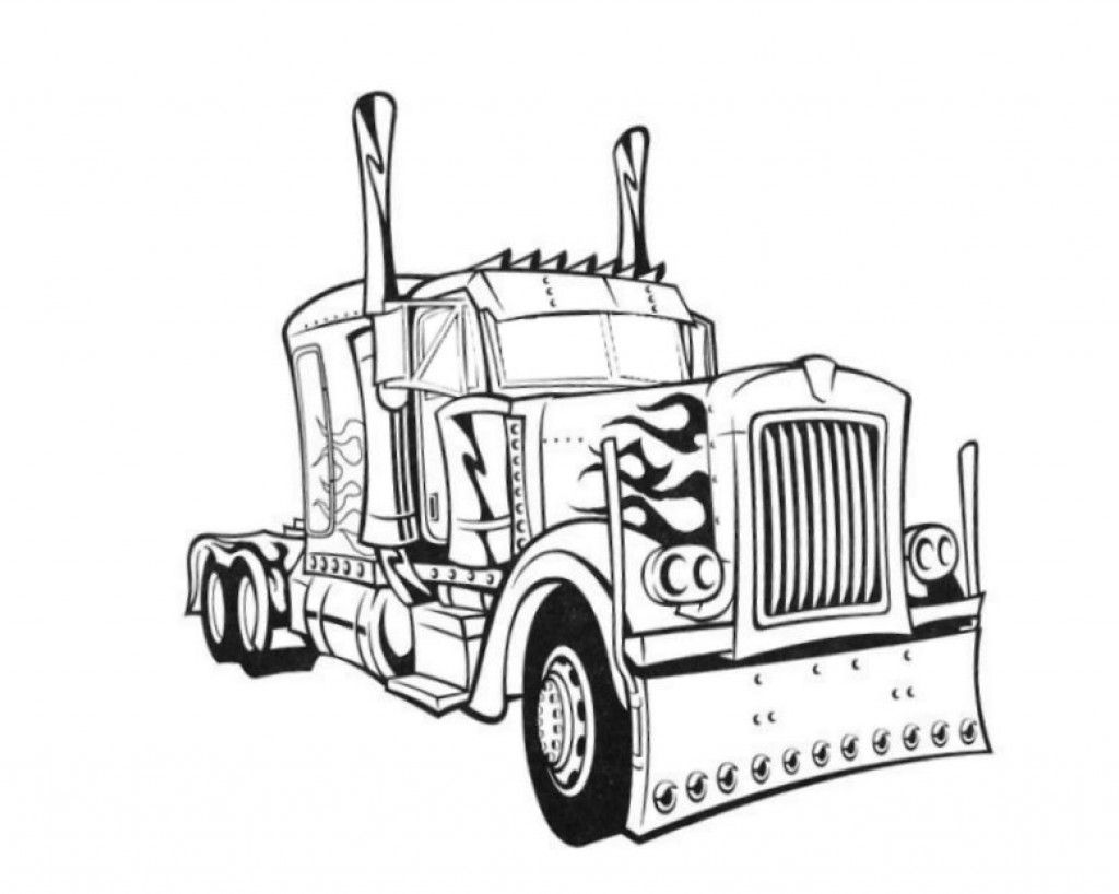 Optimus Prime Transformers Colouring Pictures to Print-and-Colour ...
