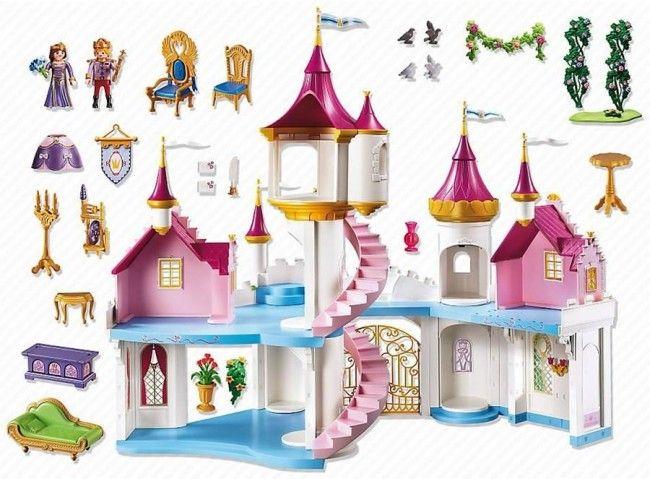 Playmobil Princesses Grand château de princesse - Castello | Jeux ...