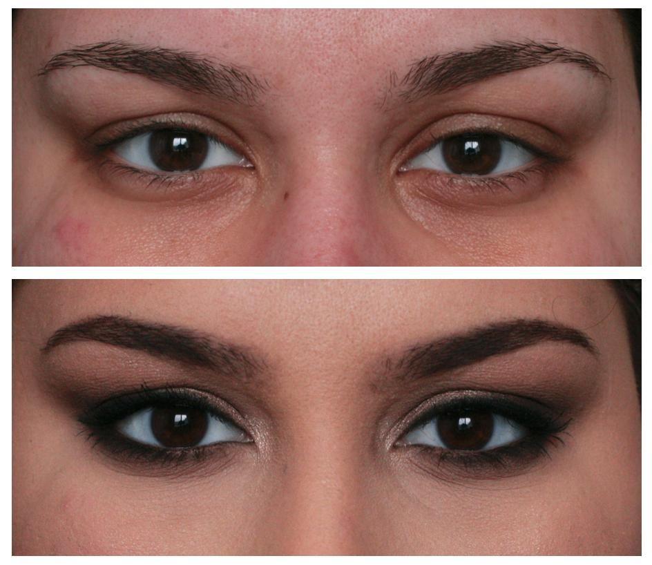 Too Faced Chocolate Bar Eye Tutorial For Deep Set Semi Hooded