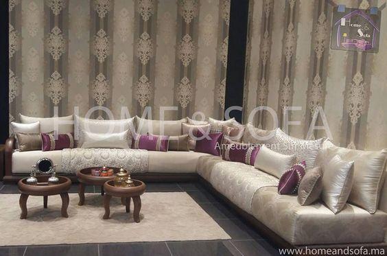 Salon Some and Sofa | deco orientale in 2019 | Moroccan room ...