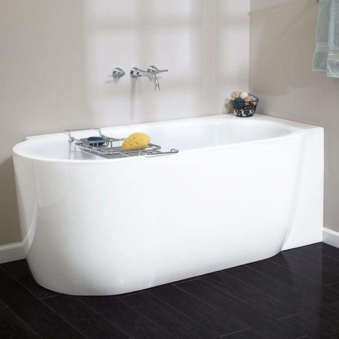 A Perfect Fit For A Corner In Your Master Bathroom, The Averill  Freestanding Acrylic Tub Is Offered In Left  Or Right Side Corner. Choose  Your Ideal Style ... Great Pictures
