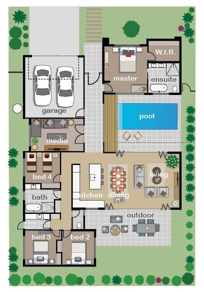 Floor Plan Endeavour Foundation Lotteries Sims House Plans House Plans House Layout Plans