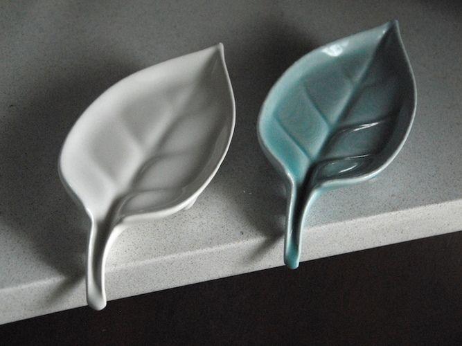 Photo of Leaf: Self-Draining Soap Dish